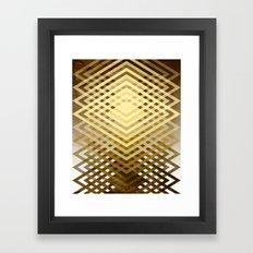 CUBIC DELAY Framed Art Print