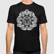 Styr Stryy Monochrome Mens Fitted Tee Tri-Black SMALL