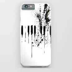 black & white  iPhone 6s Slim Case
