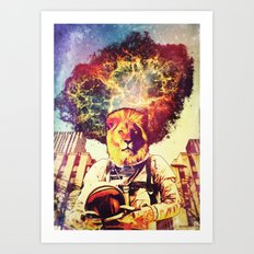 He Came At The Very End Art Print