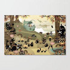 The Octonauts Sea of Shade Canvas Print