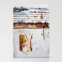 Rust Study Stationery Cards