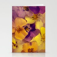 Viola bed. Stationery Cards