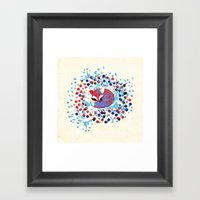 Berry Fox - Nostalgic Framed Art Print