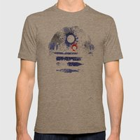 Astromech Deetoo Mens Fitted Tee Tri-Coffee SMALL