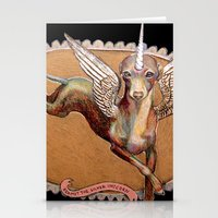 Kermit The Silver Unicor… Stationery Cards