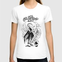 The Ugly Duckling 1843 Womens Fitted Tee White SMALL