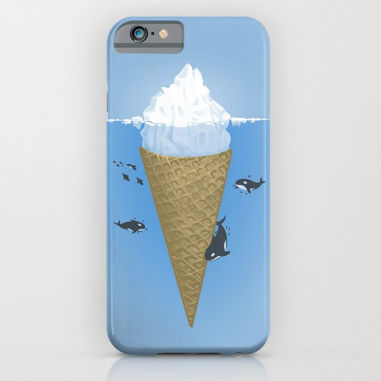 Hidden part of icebergs iPhone & iPod Case