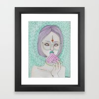 Summer Sweetness Framed Art Print