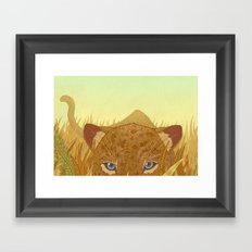 Leopard Framed Art Print