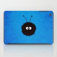 Blue Cute Dazzled Bug iPad Case