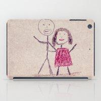 CRAYON LOVE: Boy meets Girl iPad Case