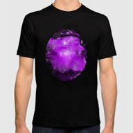 The Enchanted Forest Mens Fitted Tee Black SMALL