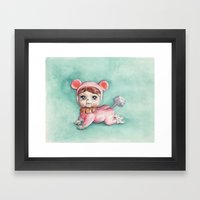 Baby Pootsy Framed Art Print