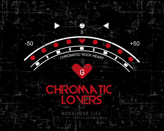 Chromatic Lovers Art Print