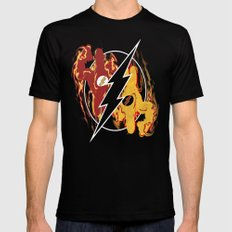 Flashpoint Paradox  SMALL Black Mens Fitted Tee