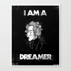 I am a Dreamer - Lennon Illustration Canvas Print