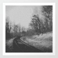 Railroad Art Print