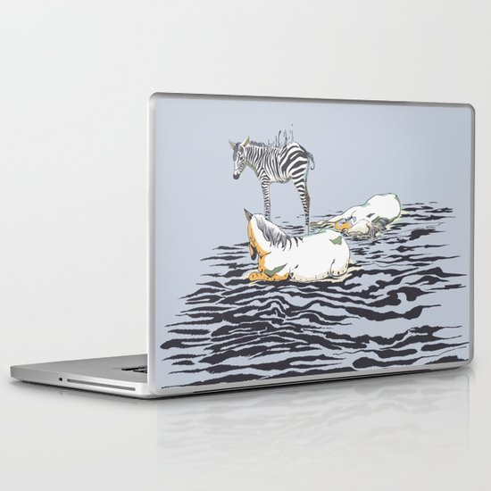 RESTING WITH YOU Laptop & iPad Skin