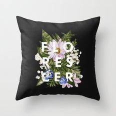 Florescer Throw Pillow