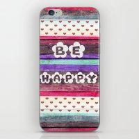 ▲BE HAPPY▲ iPhone & iPod Skin
