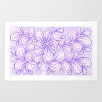 Light Purple  Art Print