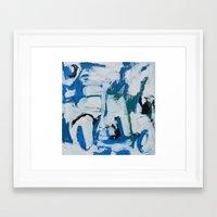 Italian Blue Framed Art Print