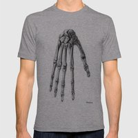 Hand  Mens Fitted Tee Athletic Grey SMALL