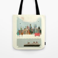 Visit London City Tote Bag