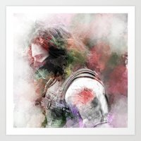 Winter Soldier Art Print