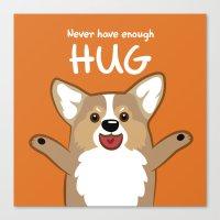 Hug me Canvas Print