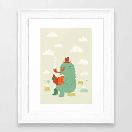The Cloud Creator Framed Art Print