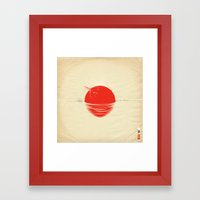 Japan Relief Poster/all … Framed Art Print