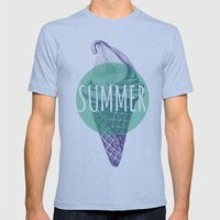 ICE CREAM  Mens Fitted Tee Athletic Blue SMALL