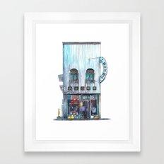 Tokyo storefront #02 Framed Art Print