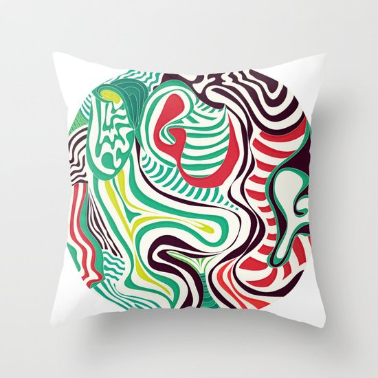 Act and Shout Throw Pillow