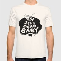 Zed's Dead Baby Mens Fitted Tee Natural SMALL