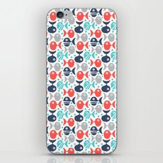 School Of Fish iPhone & iPod Skin