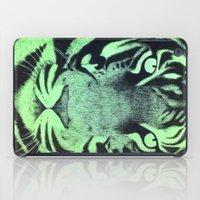 Be A Tiger (Green) iPad Case