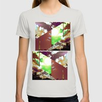 Cut Down The Day The Day The Day Womens Fitted Tee Silver SMALL