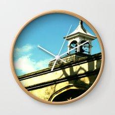 Quaint Village Wall Clock