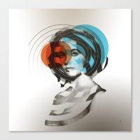 Der Kreis der Erinnerung 4 Canvas Print