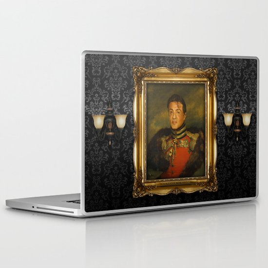 Sylvester Stallone - replaceface Laptop & iPad Skin