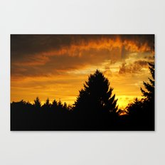Sonnenaufgang Canvas Print