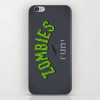 ZOMBIES, Run! iPhone & iPod Skin