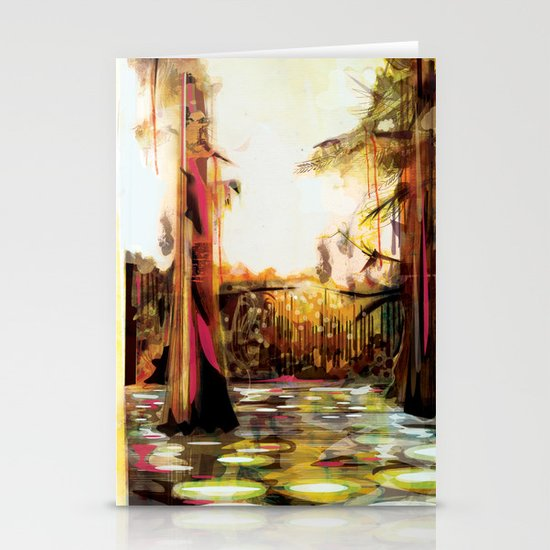 Landscape Stationery Card
