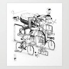 Ride 'till I Die Art Print