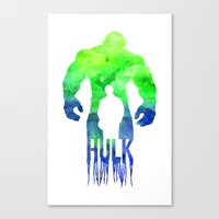 The Hulk  Canvas Print