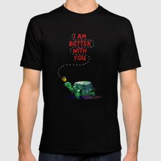 I Am Better With You [Elementary CBS] Mens Fitted Tee Black SMALL