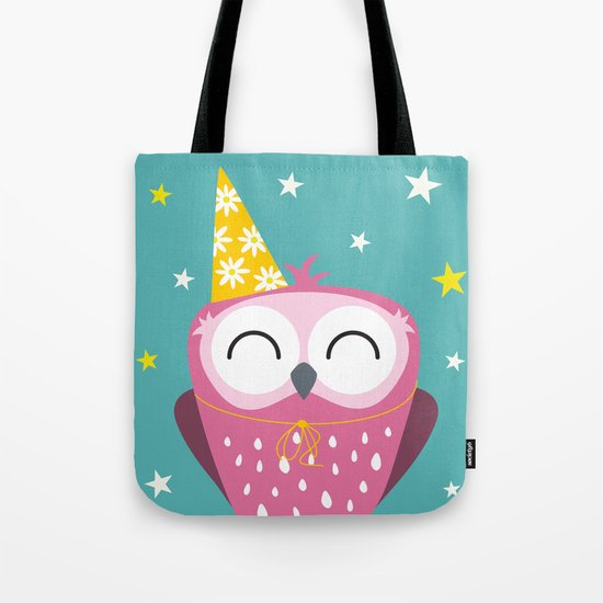 Party Owl Tote Bag